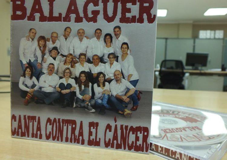 Balaguer cantarà contra el càncer