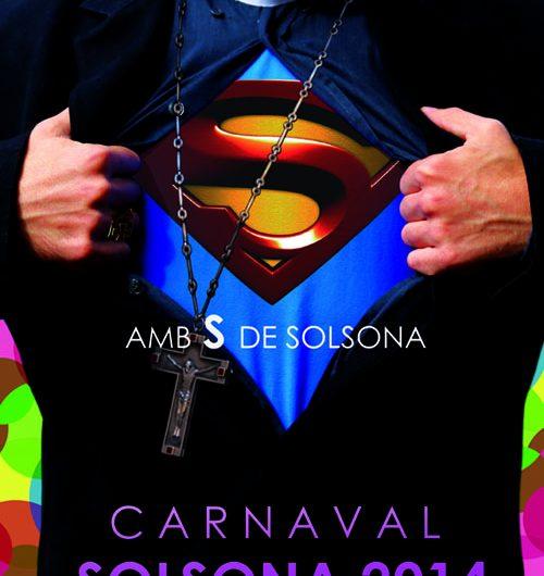 El dissenyador balaguerí Arnau Torrente crea polèmica amb el cartell del Carnaval de Solsona