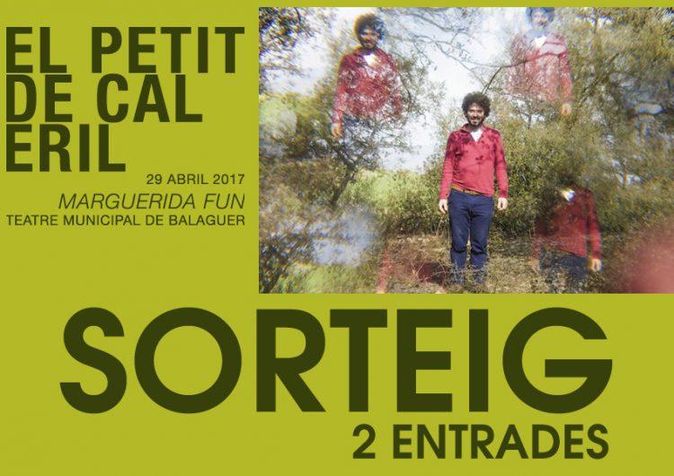 """Montse Codina, guanyadora de les entrades pel concert de """"El Petit de Cal Eril"""" a Balaguer"""