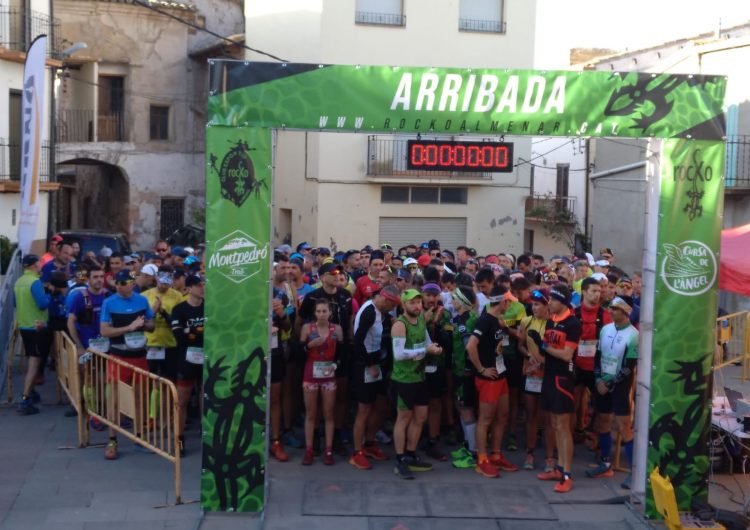 La Trail Montpedró corona Òscar Monclús i Paula Mata i aplega 300 participants a Ivars de Noguera
