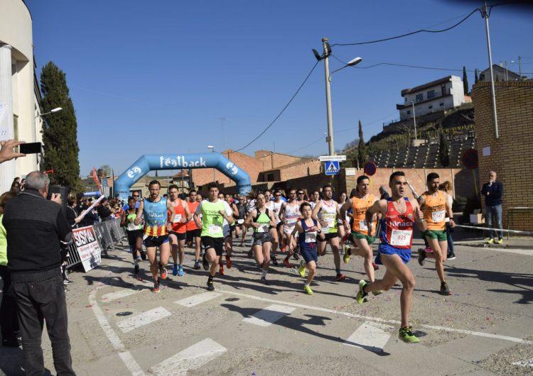 La 8a Cursa del Sucre de Menàrguens aplega 350 participants