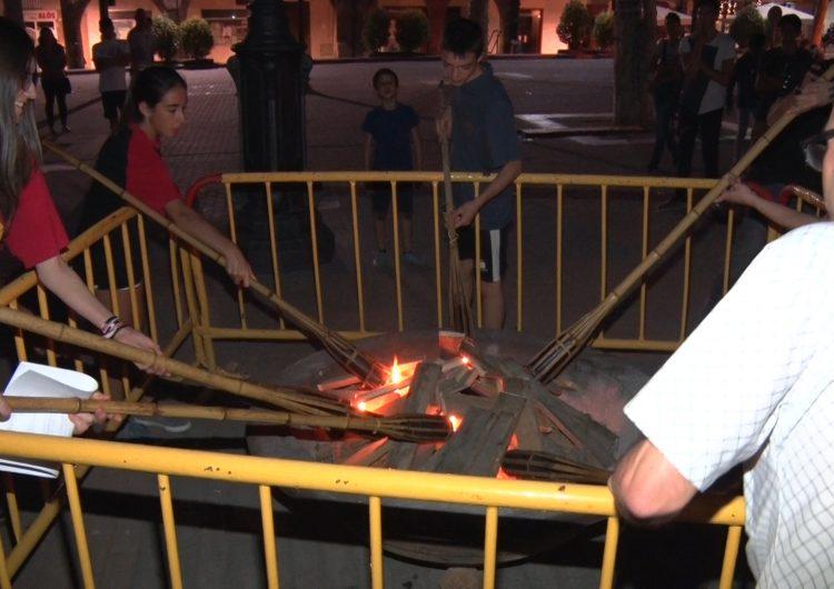 El foc i la música protagonitzen la revetlla de Sant Joan de Balaguer