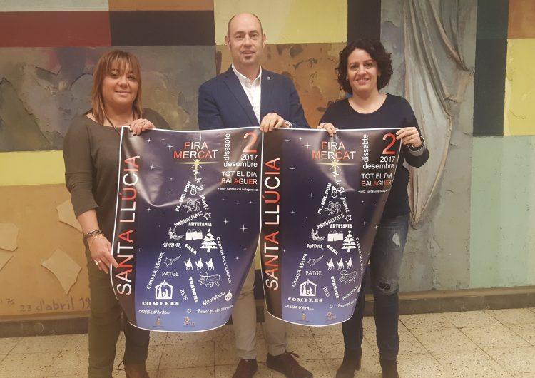 Balaguer dona el tret de sortida a les festes de Nadal amb la celebració de la tradicional Fira de Llúcia