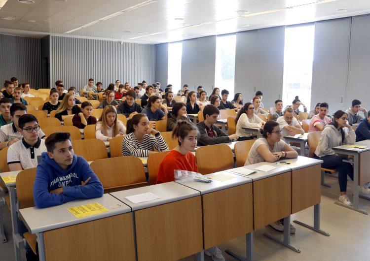 Arrenca la selectivitat a Lleida amb normalitat i amb un increment d'alumnes de gairebé el 10%