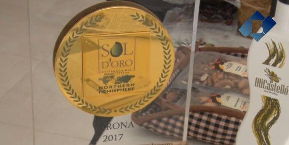 L'Oli Castelló Gabriel Alsina guanya el 1r premi Sol d'Oro a la Fira de l'Oli de Verona