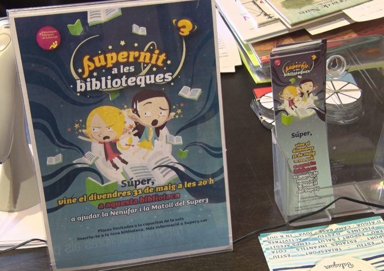 "La biblioteca Margarida de Montferrat prepara la ""Supernit"""
