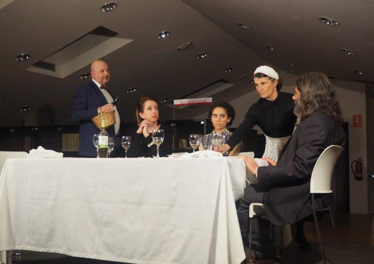 La companyia Crisi Perpètua tanca el cicle Biblioteques amb DO a Balaguer amb l'obra 'El Tast'