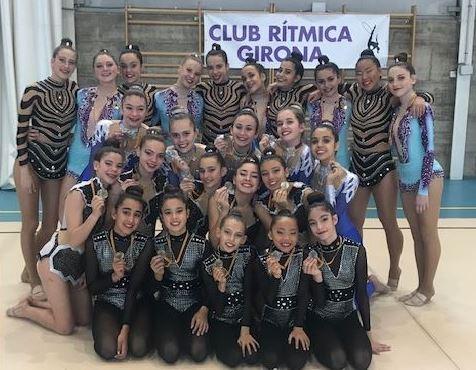 Bons resultats del Club Gimàstica Rítmica Balaguer a la primera fase de la Copa Primavera