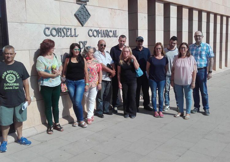 Finalitzen els primers contractes del Programa Treball i Formació 2017 del Consell Comarcal de la Noguera