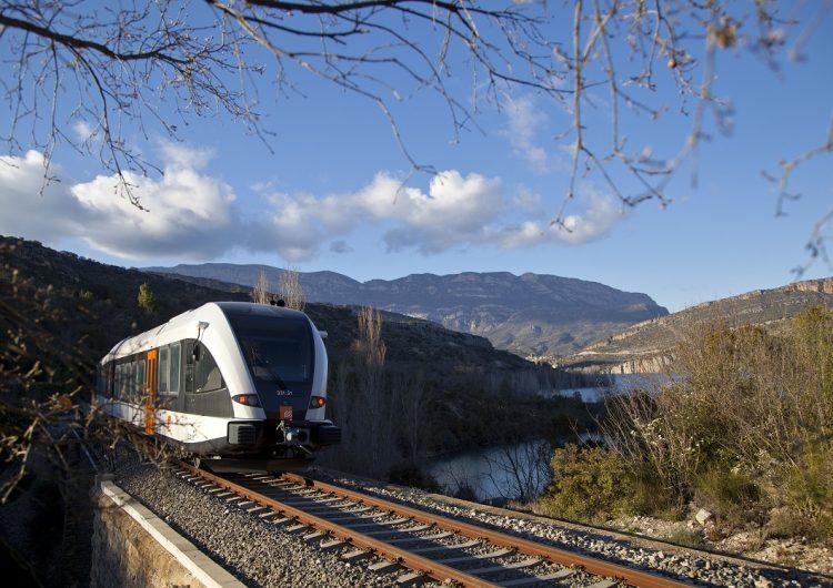 El servei de tren entre Balaguer i la Pobla de Segur en continuarà realitzant en autobús fins el mes d'abril