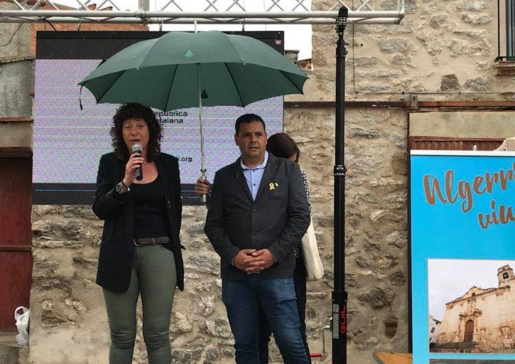 Algerri celebra la 6a edició de la seva fira amb la presència de la nova consellera d'Agricultura, Teresa Jordà