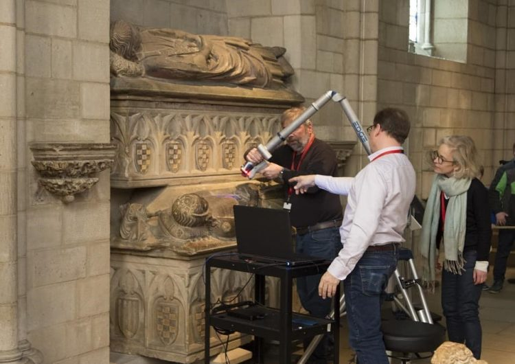 La digitalització dels sepulcres dels comtes d'Urgell estarà llesta a l'abril