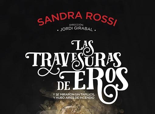 """""""Las travesuras de Eros"""" de Sandra Rossi, primer espectacle de contes per adults del cicle de Biblioteques amb D.O."""