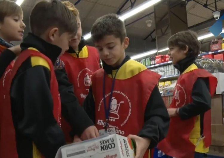 Els escolars de Balaguer aprenen a comprar aliments saludables amb Caprabo