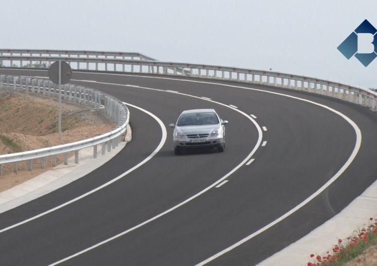 Oberta al trànsit la nova variant nord-oest de Balaguer