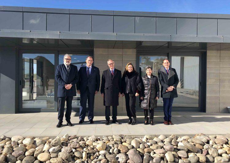 El ministre de Cultura visita el projecte Planta de Sorigué a Balaguer