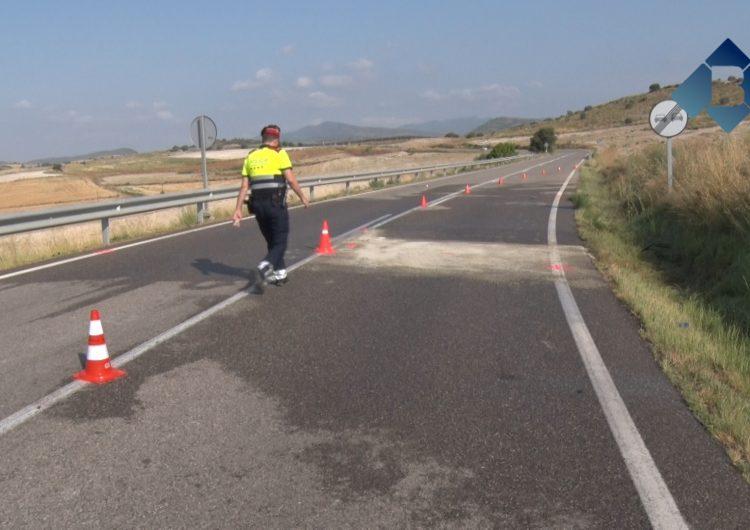 Les víctimes de l'accident de cotxe de la C-12 són tres joves de Balaguer d'entre 23 i 30 anys