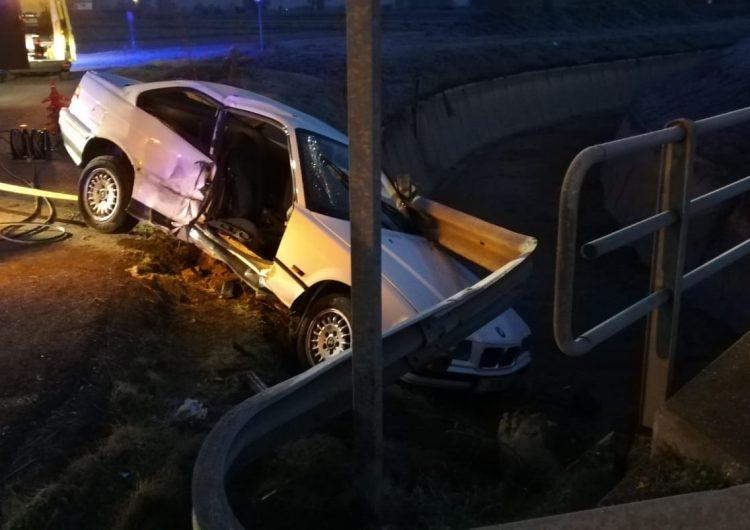 Dos ferits, un d'ells crític, en un accident a la la rotonda de la C-13 amb la L148A a Balaguer