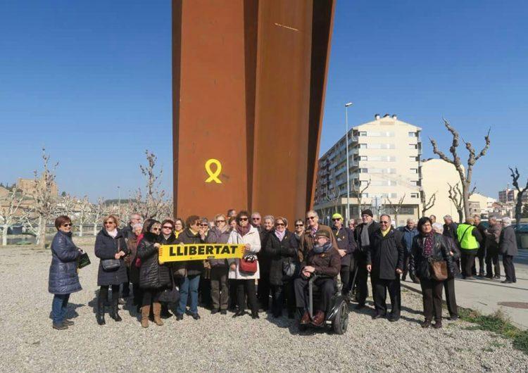 Segona acció reivindicativa del Col·lectiu Llibertat de Balaguer