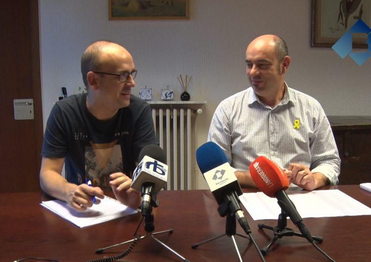Acord entre ERC i la CUP a Balaguer per aprovar el pressupost 2018