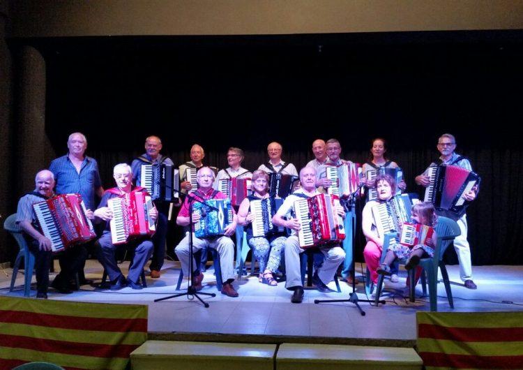 Montgai celebra la 4a Trobada d'Acordionistes