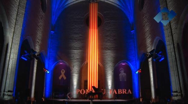 L'Acte Institucional de la Diada Nacional de Catalunya a Balaguer rendeix homenatge a Pompeu Fabra