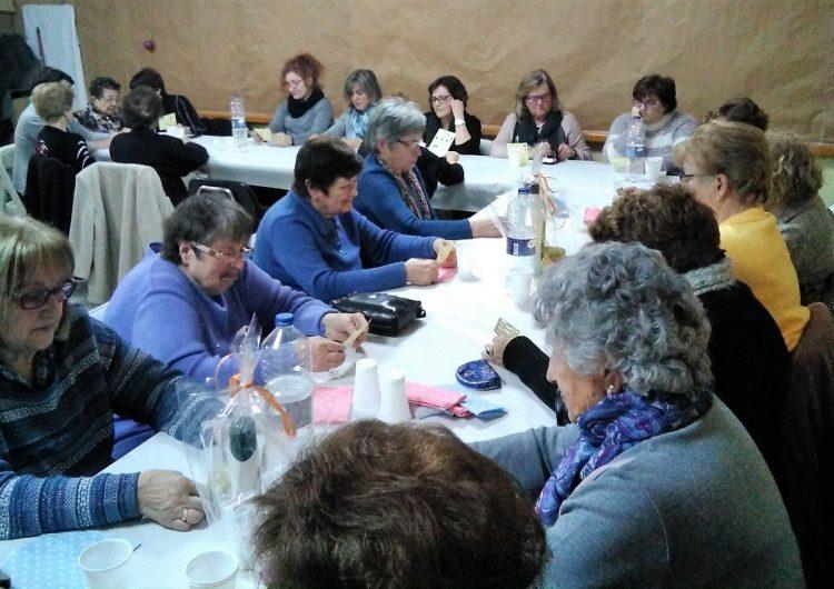 Les dones de Cubells celebren Santa Àgueda