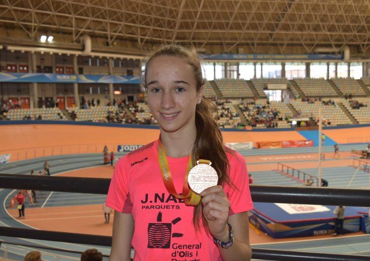 Aida Alemany, bronze al Campionat d'Espanya sub-18
