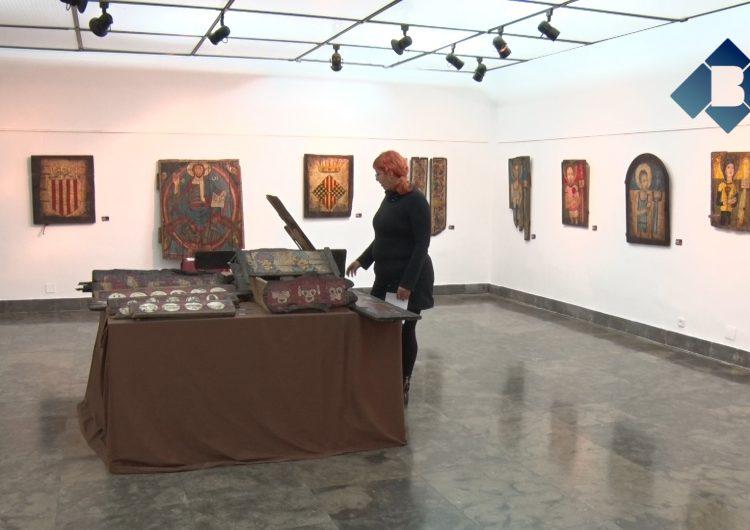 """Aida Marro presenta la mostra """"Un romànic contemporani"""" a la Sala d'Exposicions de l'Ajuntament de Balaguer"""
