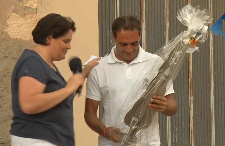 Os de Balaguer desitja sort al genet Albert Hermoso en la seva participació al JJOO