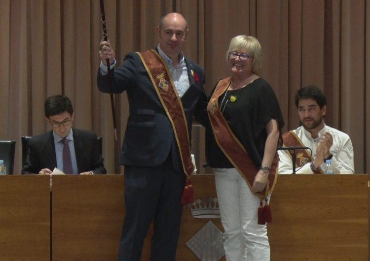 Jordi Ignasi Vidal, investit de nou com a alcalde de Balaguer
