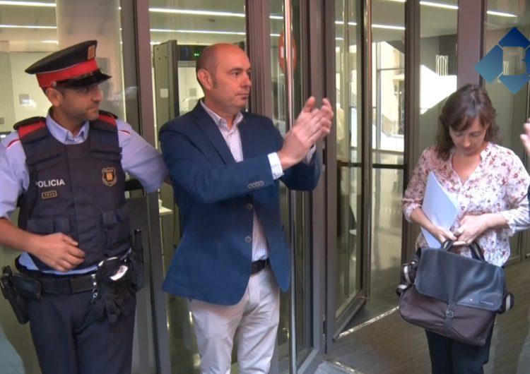 Jordi Ignasi Vidal reivindica la innocència de tots els alcaldes investigats per l'1-O