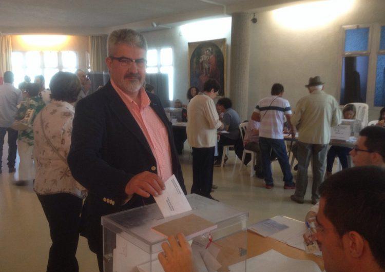Josep Maria Roigé de CiU anima a la participació per 'un ajuntament de l'opinió de la majoria dels balaguerins'