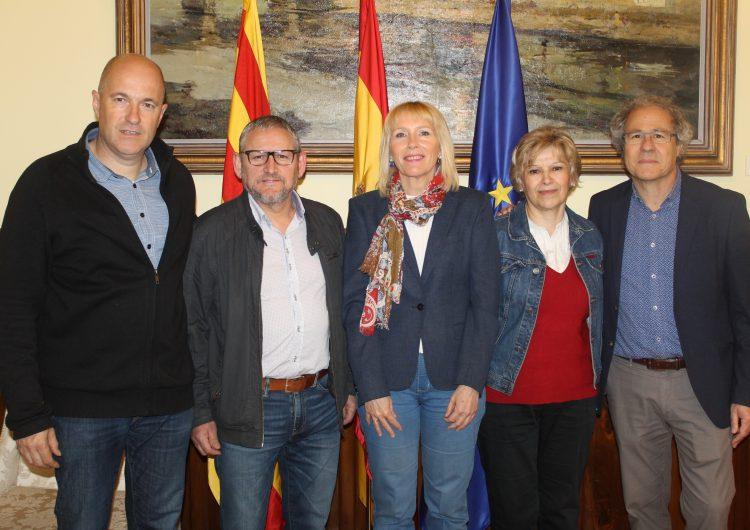 Set alcaldes del nord del Segrià i el sud de la Noguera busquen suport per portar la banda ampla als seus municipis