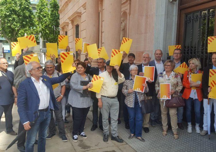 Una quarantena d'alcaldes d'ERC responen la carta d'Enric Millo a la subdelegació del govern espanyol a Lleida
