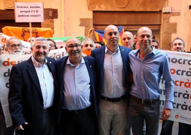 La fiscalia catalana seguirà amb les diligències contra els alcaldes que van col·laborar en l'1-O