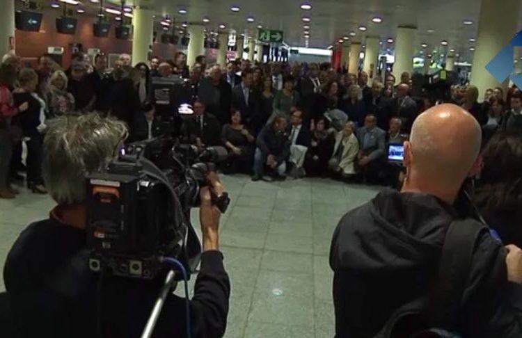 Alcaldes de la Noguera viatgen a Brussel·les per denunciar la situació política a Catalunya