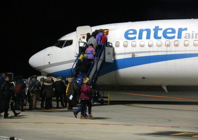 Més de 560 persones han volat des de Lleida-Alguaire cap a Brussel·les per assistir a la manifestació