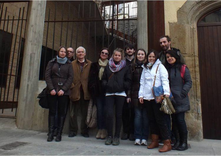 Alumnes de la UB visiten el centre històric de Balaguer