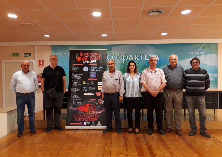 """El Torneig de Futbol Formatiu Aleví Copa """"Cooperativa d'Artesa"""" celebra la seva 7a edició"""