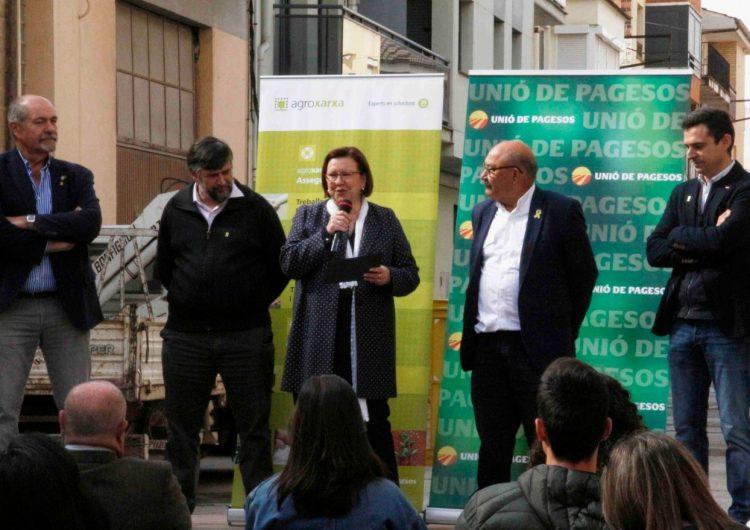 Unió de Pagesos estrena nova oficina a Artesa de Segre coincidint amb el 25è aniversari de la seva posada en marxa