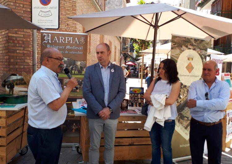 """Balaguer, ciutat convidada al mercat """"Tot d'aquí"""" d'Artesa de Segre"""