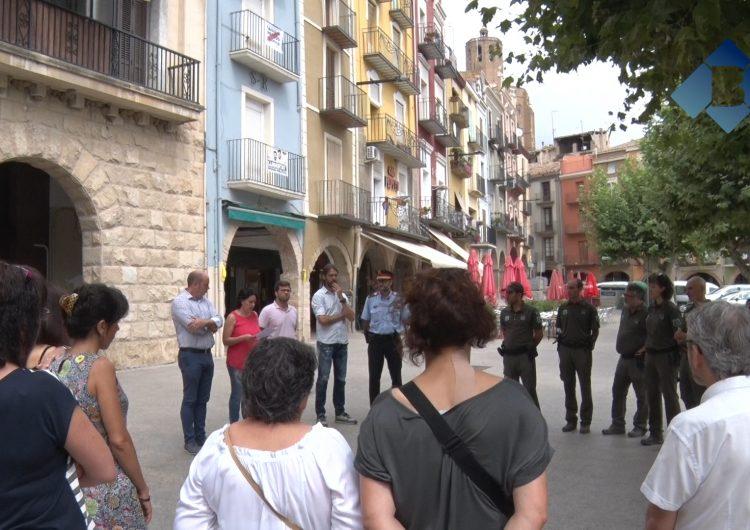 Acte de record a les víctimes dels atemptats de Barcelona i Cambrils a Balaguer