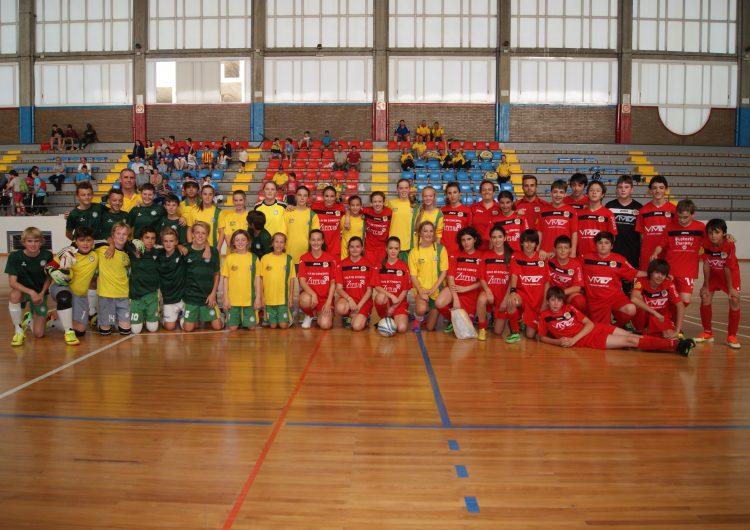 La selecció Australiana de Futbol Sala visita Balaguer