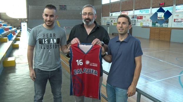 Joan Mateu i Francesc Almira, entrenadors dels equips sènior del Club Bàsquet Balaguer per a la temporada 2018-2019