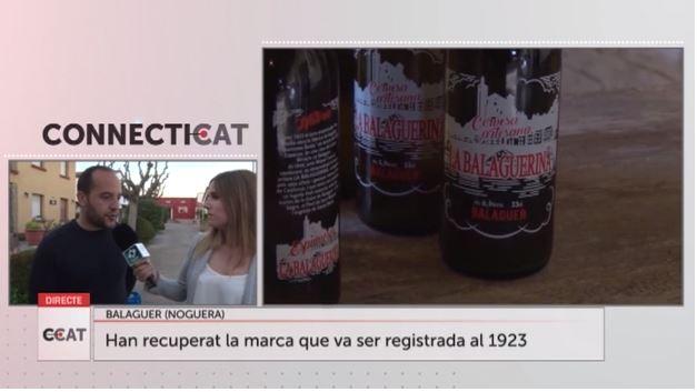 """Descobrim la nova cervesa """"La Balaguerina"""" en directe a Connecti.cat"""