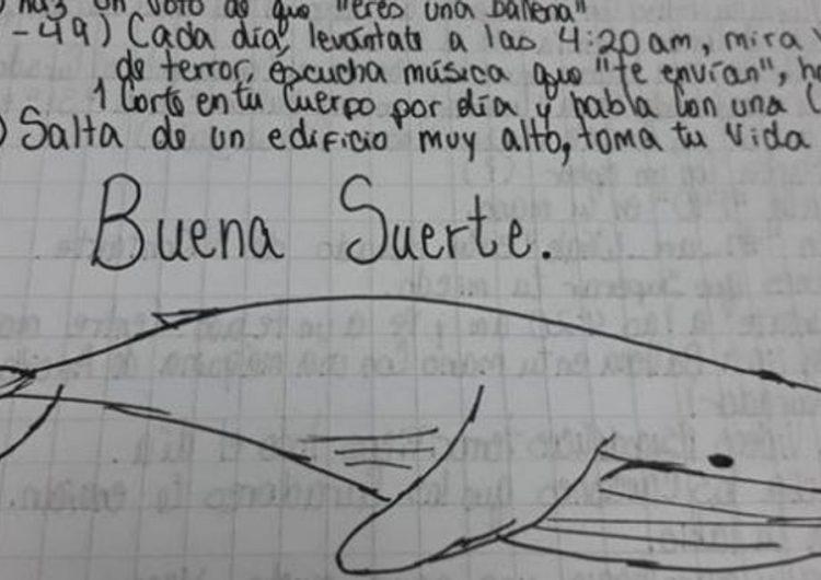 """Investiguen un cas de """"balena blava"""" a Balaguer"""