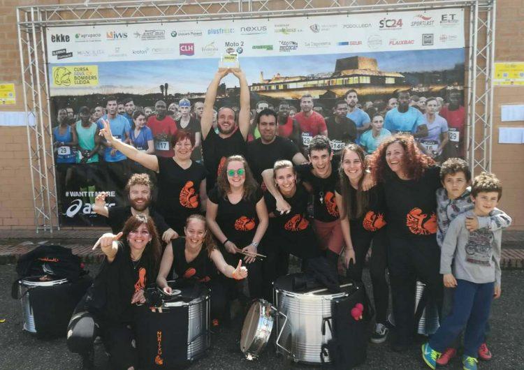 Els balaguerins Bandelpal guanyen el concurs Break de la Cursa de Bombers