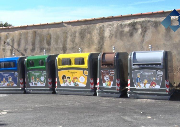 El Consell Comarcal inicia el canvi de sistema de recollida de residus a la Noguera
