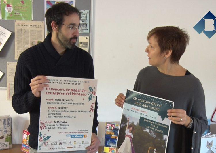 """El Monestir de Les Avellanes col·labora amb la Biblioteca de Balaguer en la iniciativa """"Hora del conte"""""""